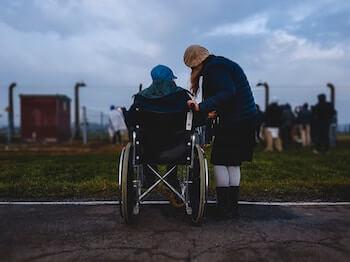 Persona con diversidad funcional o discapacitada